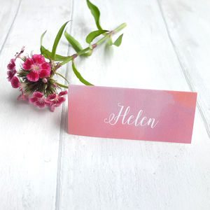 'Pink Cloud' Place Cards - place cards