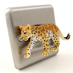 Leopard Light Switch - children's lighting