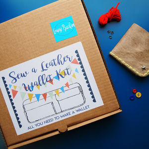 Sew A Wallet Kit - wallets