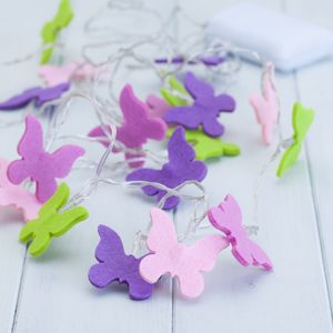 Child's Butterfly String Lights - lighting