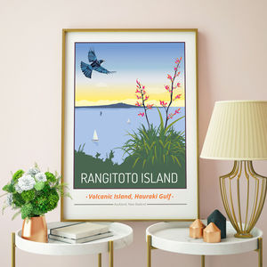 Rangitoto Island, Auckland, New Zealand Print - what's new