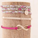 Personalised Stacking Bracelet Set