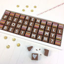 Personalised Please Be My Best Man Chocolate Gift