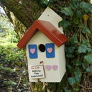 Personalised Handmade Country Cottage Bird House