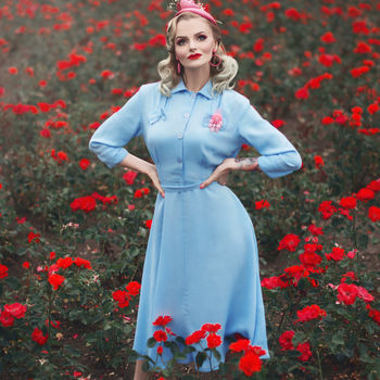 Polly Dress | Authentic Vintage 1940's Style
