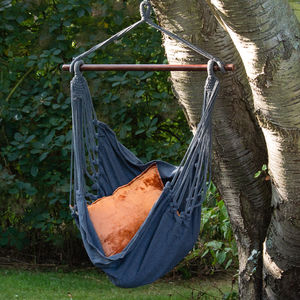 Charcoal Hammock Swing Seat - garden furniture
