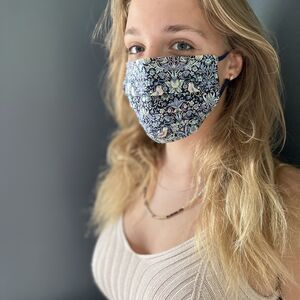 Luxe Liberty Print Face Mask With Super Soft Elastic