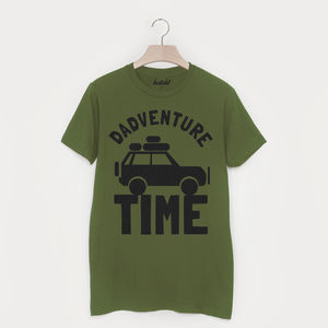 Dadventure Time Men's Slogan T Shirt - clothing