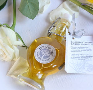 Calming Bath And Shower Oil With Rose And Ylang Ylang - bath & body