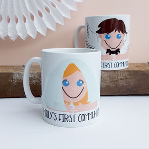 First Holy Communion Mug Gift - personalised