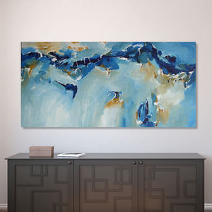 'Change Of Direction' Abstract Canvas Painting - canvas prints & art