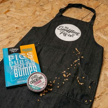 Recipe Book And Apron Of Power Bundle