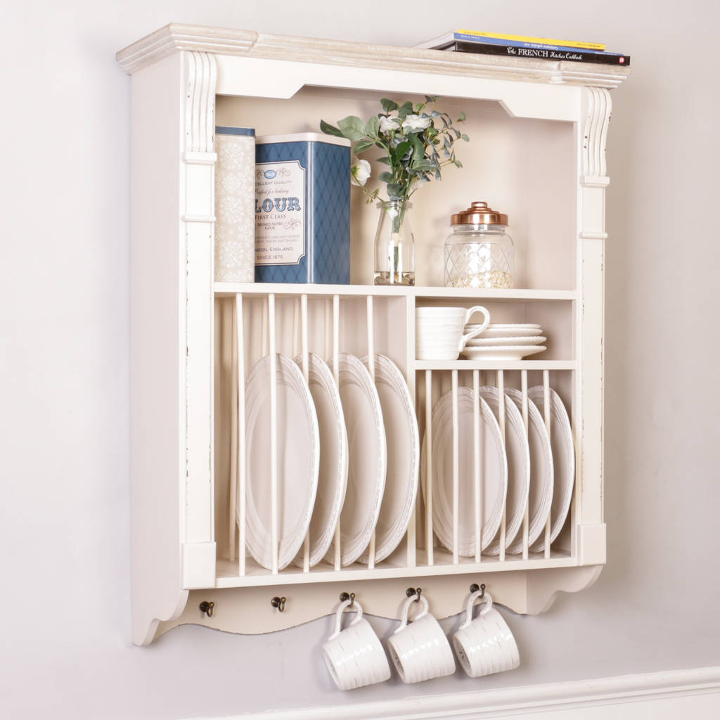 Wall mounted plate racks for kitchens - Wall Mounted Plate Racks For Kitchens Wooden Plate Rack Wall Mounted