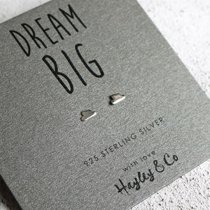 Dream Cloud Sterling Silver Earrings