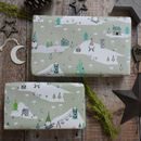 Christmas Gnome Wrapping Paper Set