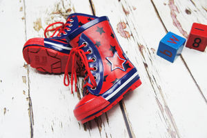 Boys Star Wellington Boots - baby care