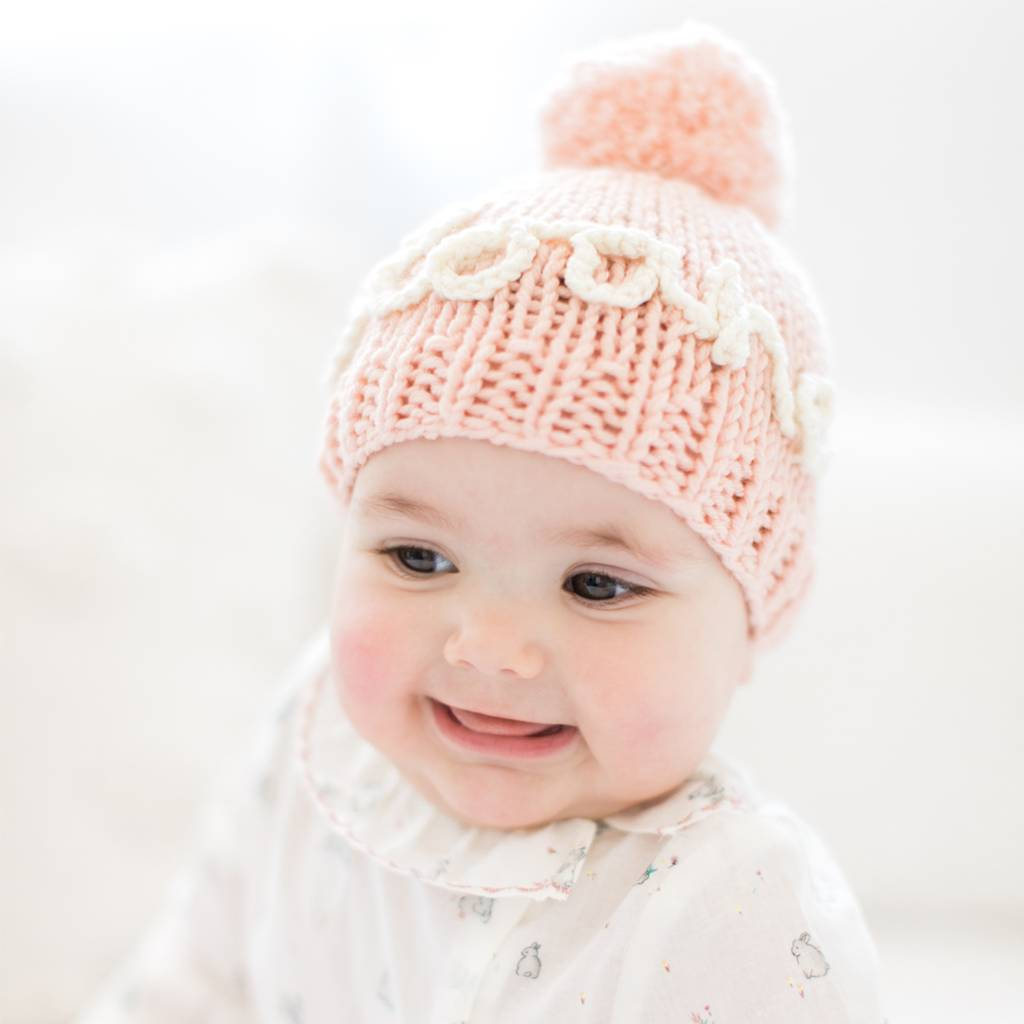 knit your own baby personalised name hat kit by stitch   story ... ca67f11df71a