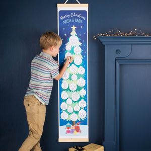 Personalised Colouring Canvas Advent Calendar