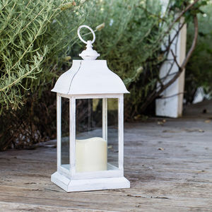 Trentham Battery Candle Lantern - lights & lanterns