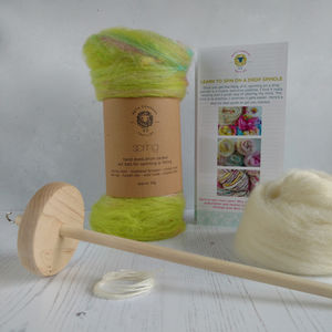 Learn To Spin Yarn Drop Spindle Kit