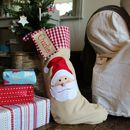 Personalised Christmas Santa Stocking/Sack Extra Large