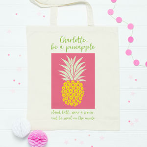 Pineapple Tote Shopper Bag