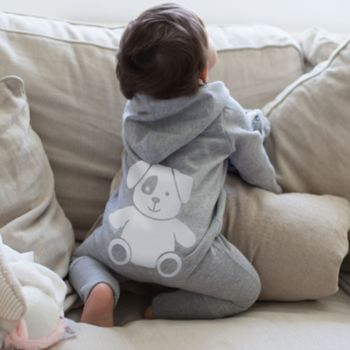 Hooded Onesie With Cute Animal