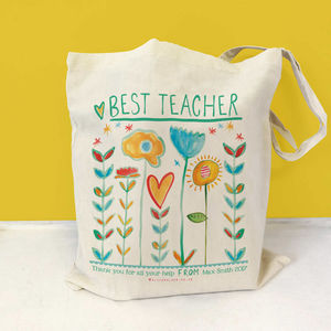 Personalised Best Bag - gifts for teachers