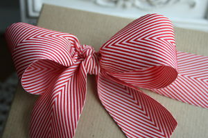 Striped Twill Ribbon - cards & wrap
