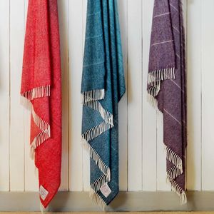 Ombre Alpaca Wool Throws