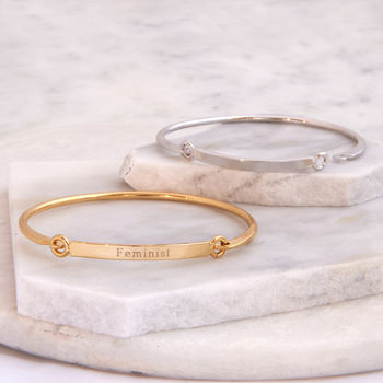 Simple Bar Bangle