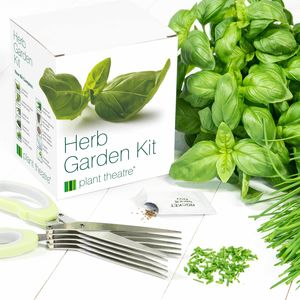 Herb Garden Kit And Herb Cutting Scissors - potting shed essentials