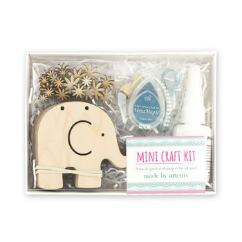 Elephant Wooden Craft Kit