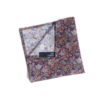 Olympia Floral Pocket Square