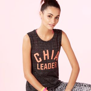 Chia Leader Drop Armhole Tank - women's fashion