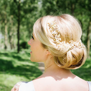 Bluebell Crystal Hair Vine - wedding fashion