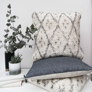 Berber Style Cushion - spring home refresh