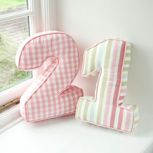 Personalised Number Cushion - cushions