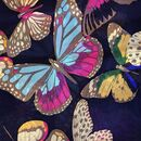 Large 'Beautiful Butterflies' Pure Silk Scarf