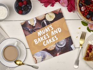Personalised Mother's Day Cookbook - gifts for bakers
