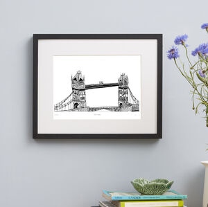 Tower Bridge, London Screen Print