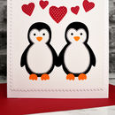 Handmade Valentine Card by Jenny Arnott Cards and Gifts, Large A5 with red envelope