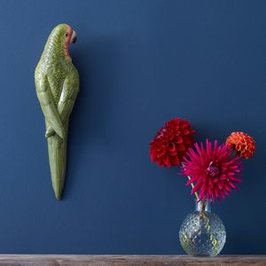 Tropical Parrot Wall Art - home accessories