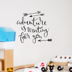 'Adventure' Wall Decal Sticker - home accessories