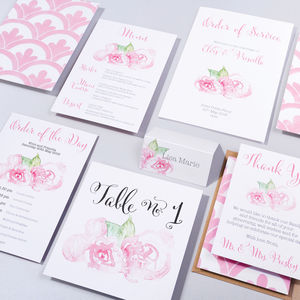 Table Plan, Numbers, Place Cards, Menus : Cotton Candy