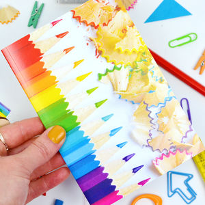 Rainbow Pencil Notebook