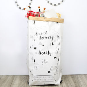 Personalised Special Delivery Christmas Sack - stockings & sacks
