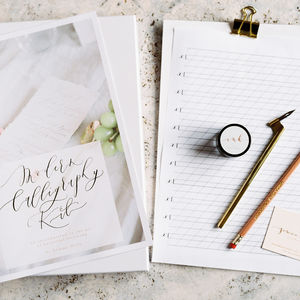 Luxe Modern Calligraphy Kit - gifts for mothers