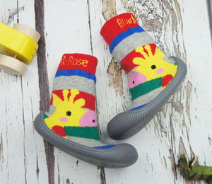 Giraffe Sock Shoes - babies' shoes, sandals & boots
