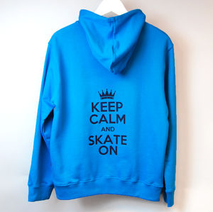 Child's Personalised Keep Calm Hoodie - babies' jumpers